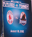 Futures at Fenway 2012 - game 2 welcome.jpg