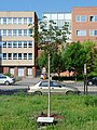 Göncz Árpád memorial tree (Budapest-3 Bécsi út 107).jpg