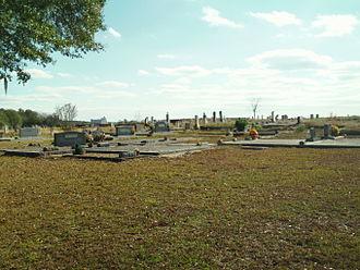Grancer Harrison - Harrison Cemetery; November 2011.