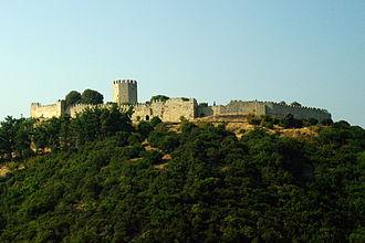 Platamon Castle - The castle of Platamon.