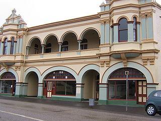 Zeehan Town in Tasmania, Australia