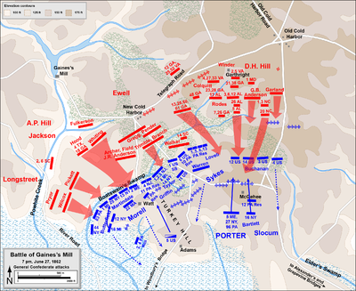 battle of gainess mill wikipedia