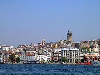 Galata Former neighbourhood opposite Constantinople, in modern-day Turkey
