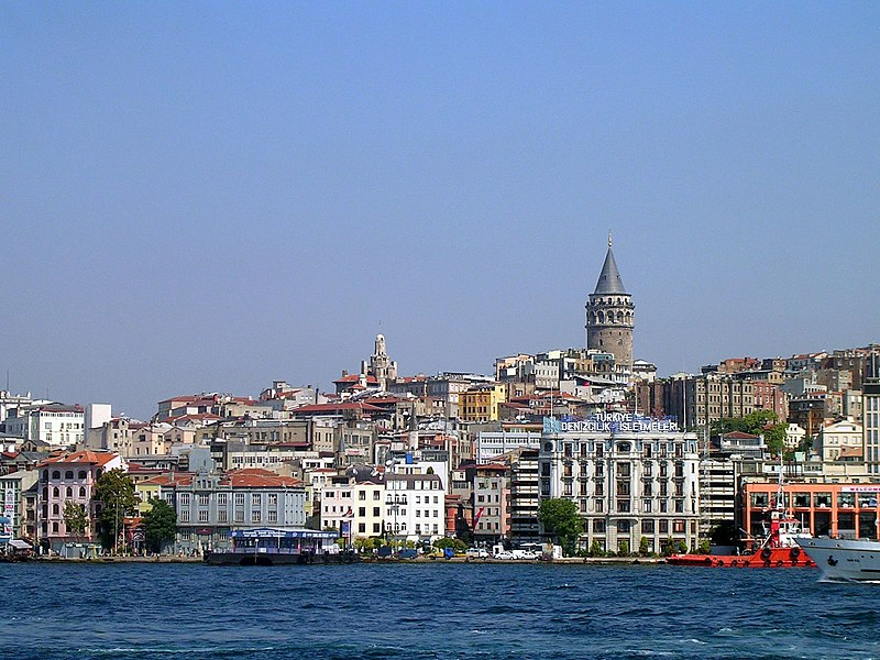 Galata Tower - Port of Karak%C3%B6y, 2006.jpg
