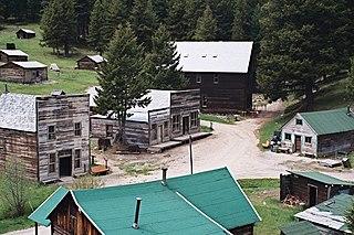 Garnet, Montana human settlement in Montana, United States of America
