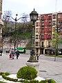 Gas lamp in Bilbao.JPG