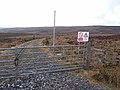 Gate onto Emblehope Moor - geograph.org.uk - 1186504.jpg