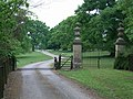 Gates and driveway to Norton Hall - geograph.org.uk - 423130.jpg