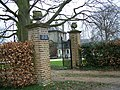 Gates to the Old Rectory, Great Cheverell - geograph.org.uk - 700502.jpg