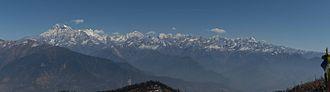 Gaurishankar - Image: Gaurishankar Mountain from Kalinchowk 2