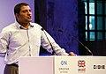 Gautam John of Akshara Foundation, speaking at Open Up! (8182370757).jpg