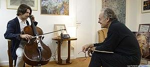 Gautier Capuçon - With Jean-Claude Casadesus