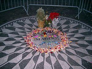 Deutsch: Gedenkstätte für John Lennon, Central...
