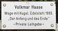 Gedenktafel Witzlebenplatz (Charl) Der Anfang und das Ende Volkmar Haase.jpg