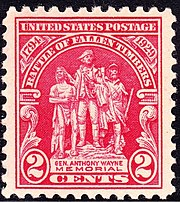 Gen Anthony Wayne 1929 Issue-2c