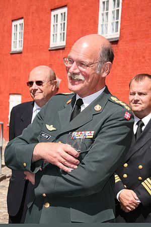 Hans Jesper Helsø - Helsø at his retirement party in 2008