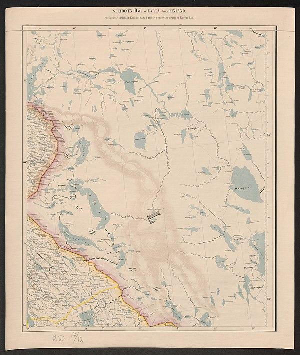 600px general map of the grand duchy of finland 1863 sheet d5
