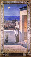 Sainte Geneviève veillant sur Paris