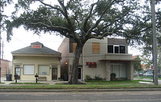 WBOK - WBOK station in the Gentilly section of New Orleans, 2008.