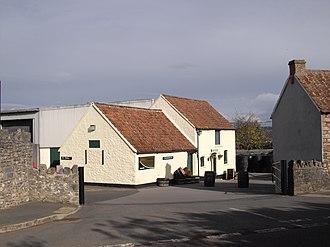 Thatchers Cider - Thatcher's cider shop in Sandford