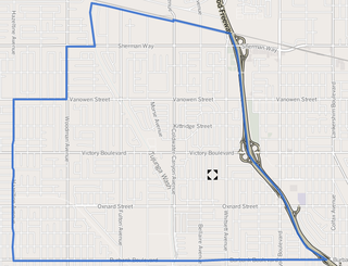 human settlement in Los Angeles, California, United States of America