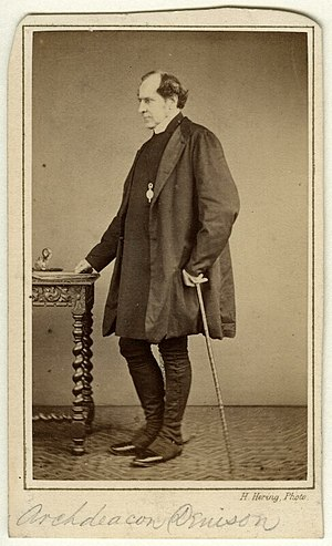 George Denison (priest) - G. A. Denison circa 1860