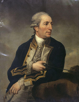 Action of 6 October 1779 - Captain George Farmer by Charles Grignion the Younger