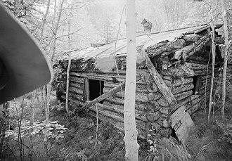 National Register of Historic Places listings in Yukon–Koyukuk Census Area, Alaska - Image: George Mc Gregor Cabin