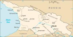 Georgia-CIA WFB Map (nocolor).png