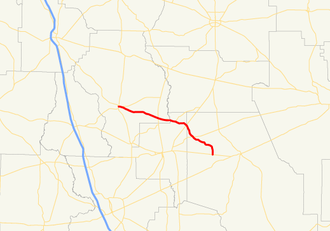 Georgia State Route 168 - Image: Georgia state route 168 map