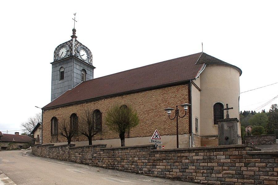 Église de Gevresin (Doubs).