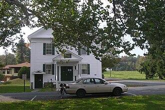 Gill, Massachusetts - Image: Gill Town Hall, MA