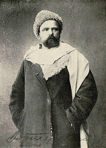 В.А.Гиляровский в 1880-х годах.