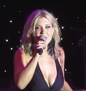 Gina Jeffreys - Gina at Broadway Melodies Theatre, Rhapsody Of The Seas in October 2013