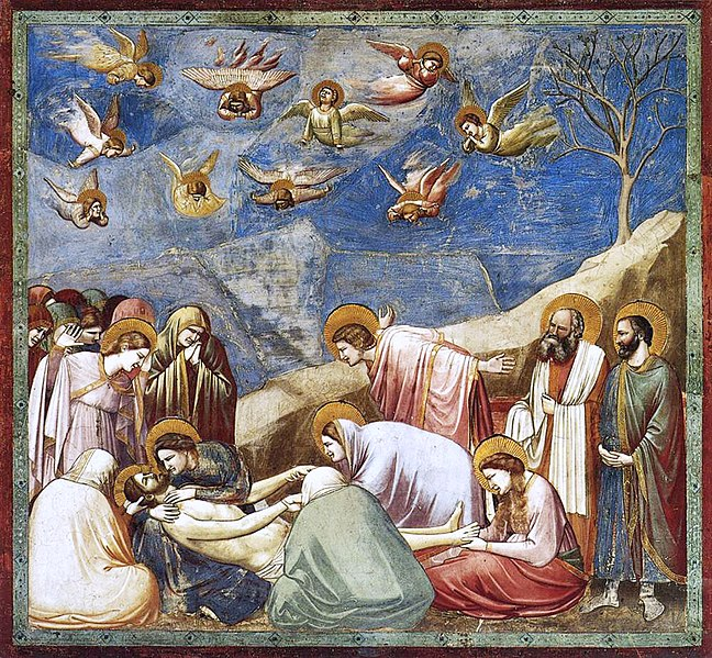 File:Giotto - Scrovegni - -36- - Lamentation (The Mourning of Christ) adj.jpg