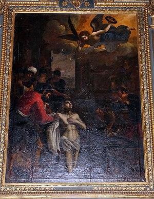 Giovanni Battista Mercati - Martyrdom of Saint Lawrence, San Lorenzo, Sansepolcro
