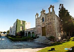 Girgenti Palace - The St Charles Borromeo Chapel, next to the palace