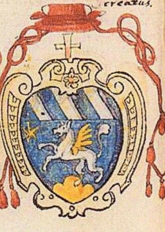 Girolamo Rusticucci - Coat of arms of Cardinal Girolamo Rusticucci.