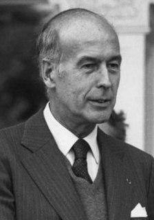 Valéry Giscard dEstaing President of France