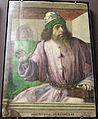 Giusto di gand e pedro berruguete, uomini illustri dallo studiolo di federico da montefeltro a urbino, 1473-76 ca., 08 aristotele.JPG