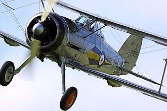 Gloster Gladiator - Gloster Gladiator I at Shuttleworth Airshow, 2010