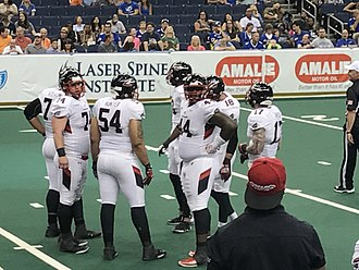 2017 Cleveland Gladiators season - The Gladiators on April 22