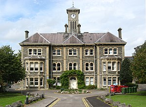 University of the West of England, Bristol - The main building of Glenside Hospital