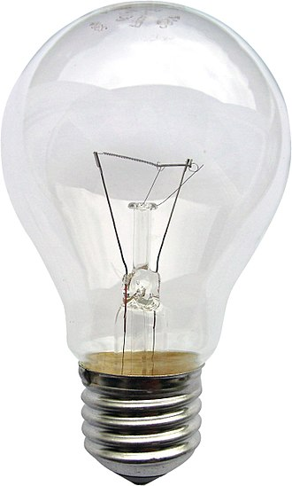 Vacuum - Light bulbs contain a partial vacuum, usually backfilled with argon, which protects the tungsten filament