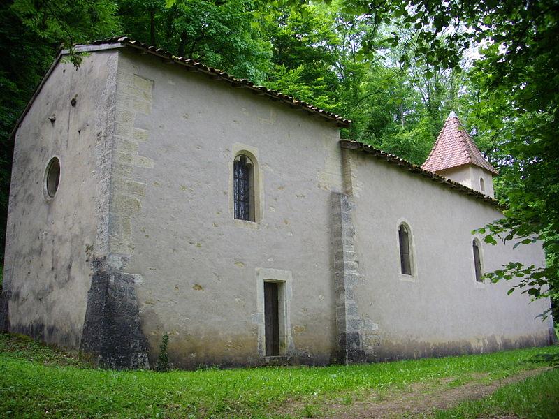 Saint Clement chapel of Gorze (Moselle, France)
