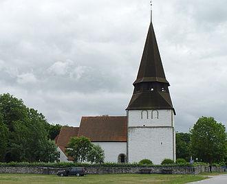 Alva Church - Image: Gotland Alva Kirche 01
