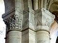 Gournay-en-Bray (76), collégiale St-Hildevert, bas-côté sud, chapiteaux du 3e pilier libre, côté sud-ouest.jpg