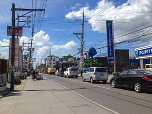 Santa Maria, Bulacan - Governor Fortunato F. Halili Avenue in Bagbaguin is the busiest highway in the municipality.
