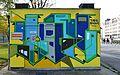 Graffiti Bruno-Kreisky-Park 02, Vienna.jpg