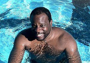 Grand L. Bush - Grand L. Bush at a Los Angeles-area aquatic center in 2012